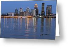 Ebb And Flow Of Louisville Greeting Card