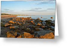 Ebb Tide On Cape Cod Bay Greeting Card