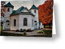 Ebenezer United Methodist Church Greeting Card