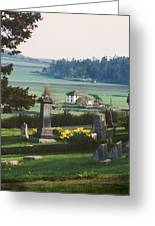 Ebey Prairie Greeting Card