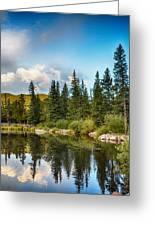 Echo Lake 2 Greeting Card