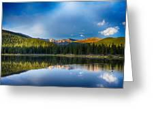 Echo Lake 4 Greeting Card