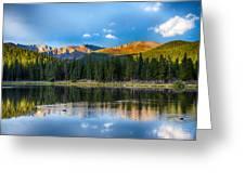 Echo Lake 5 Greeting Card