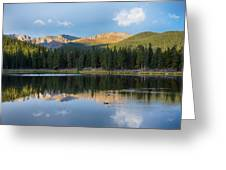 Echo Lake 6 Greeting Card