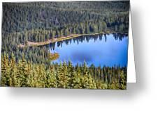 Echo Lake 7 Greeting Card