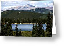Echo Lake Colorado Greeting Card