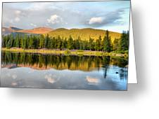 Echo Lake Painterly 1 Greeting Card