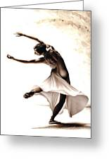 Eclectic Dancer Greeting Card