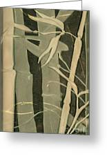 Eclipse Bamboo Greeting Card