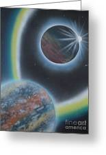 Eclipsing Greeting Card