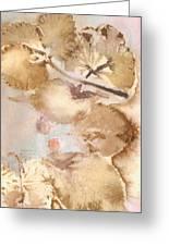 Eco Print 013d Greeting Card