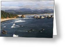 Ecola Vista Greeting Card