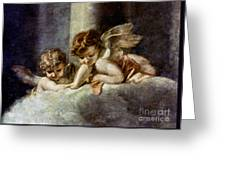 Ecstacy Of Saint Theresa Greeting Card