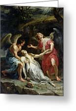 Ecstasy Of Mary Magdalene Greeting Card