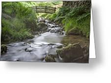 Edale Bridge. Greeting Card