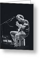 Eddie Vedder Playing Live Greeting Card