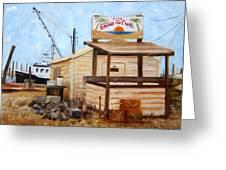 Eddies On The Creek Belford Nj Greeting Card