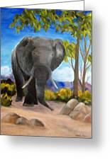 Eddy Elephant Greeting Card