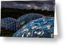 Eden Project Cornwall Greeting Card