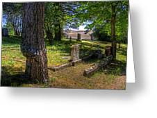 Eden Valley Cemetery Greeting Card