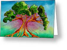 Eden's Tree Greeting Card