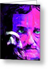 Edgar Allan Poe The Eyes Of The Ravens 20160430 V3 M88 Greeting Card