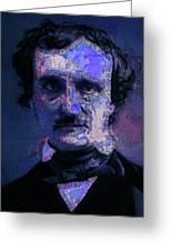 Edgar Allan Poe, Artsy 1 Greeting Card