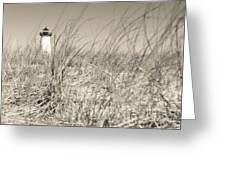 Edgartown Harbor Light Greeting Card