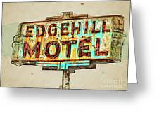 Edgehill Sketched Greeting Card