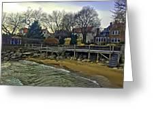 Edgemere Crt Docks Greeting Card