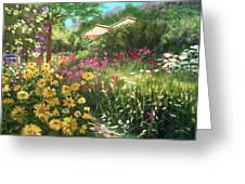 Edie's Garden Greeting Card