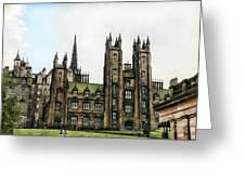 Edinburgh Architecture 3 Greeting Card