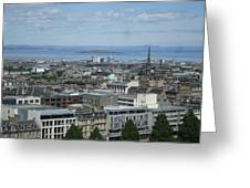 Edinburgh Castle View #5 Greeting Card