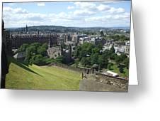 Edinburgh Castle View #6 Greeting Card