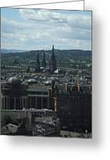Edinburgh Castle View #9 Greeting Card