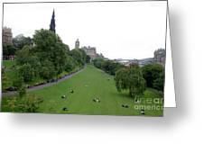 Edinburgh Park  Greeting Card