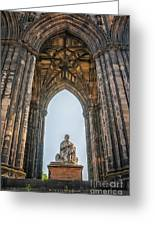 Edinburgh Sir Walter Scott Monument Greeting Card
