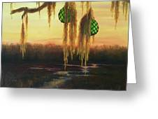 Edisto Island Glass Floats Greeting Card