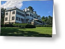 Edith Wharton Estate Greeting Card
