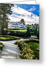 Edith Wharton Mansion Greeting Card