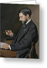 Edmond Maitre Greeting Card