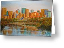 Edmonton Reflections Greeting Card