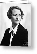 Edna St. Vincent Millay Greeting Card