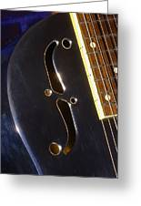 Eds Guitars Steel1 Greeting Card