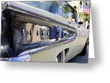 Edsel On Parade Greeting Card