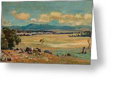 Edward Cairns Officer 1871-1921 Landscape Greeting Card