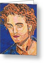 Edward Cullen Greeting Card