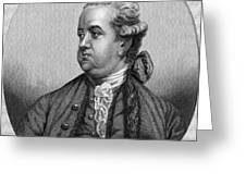 Edward Gibbon, English Historian Greeting Card
