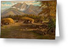Edward Hill 1843-1923 Adamsons Ranch, Utah Greeting Card