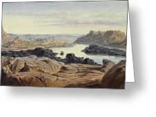 Edward Lear 1812 - 1888 British Philae Greeting Card